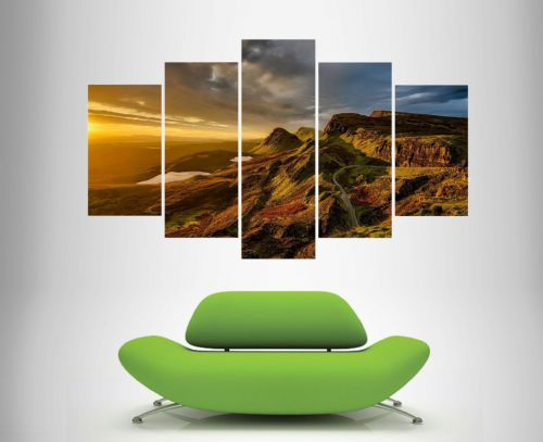 5 Multi Panel Canvas  Wall Art